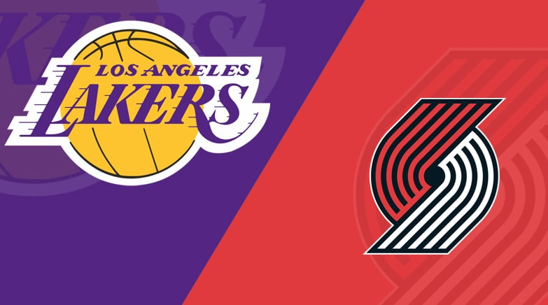 Portland Trail Blazers vs Los Angeles Lakers