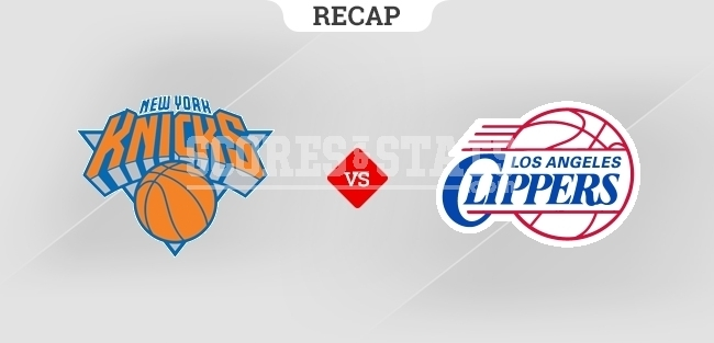 New York Knicks vs LA Clippers